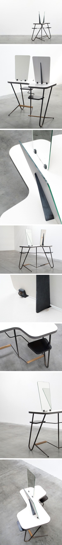 Dressing table by ARP Atelier de Recherche Plastique Large