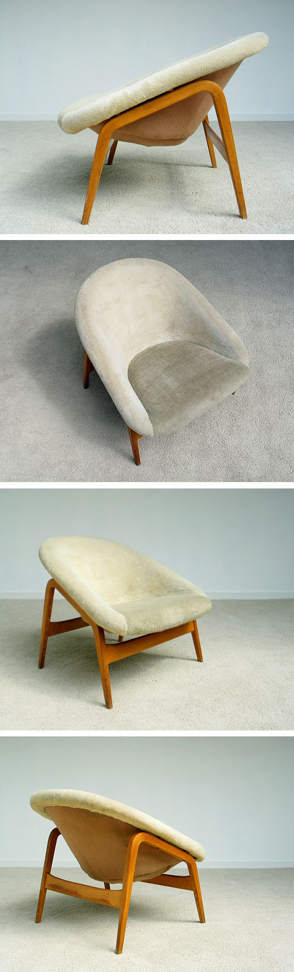 Easy chair Columbus Hartmuth Lohmeier 1956 Large