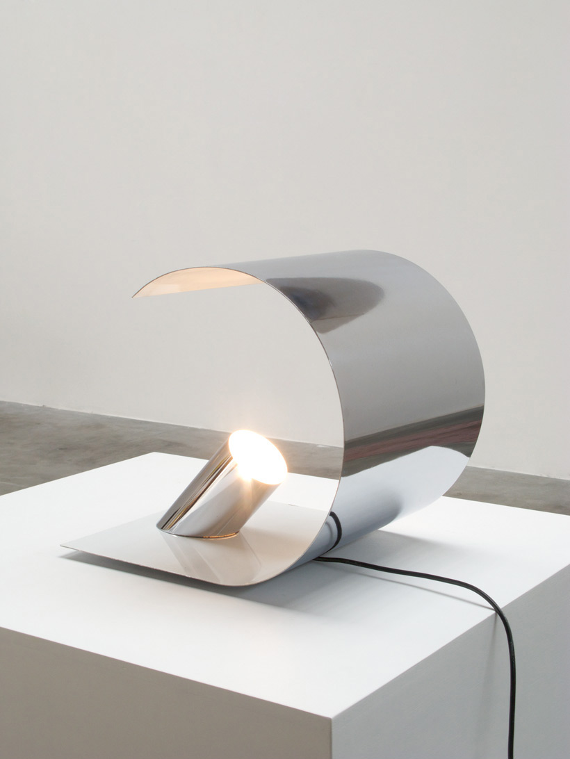 Eclipse table lamp made in Italy