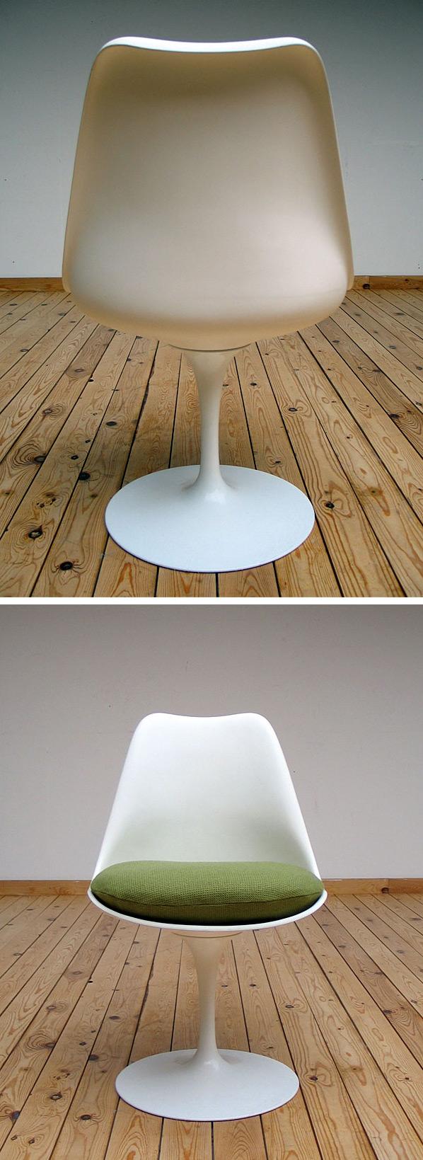 Eero Saarinen Tulip Chair 1957 Knoll international Large