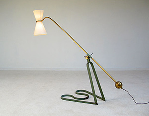 Equilibrium floor lamp Pierre Guariche 1951