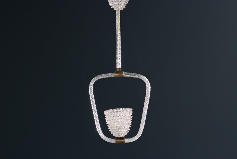 Ercole Barovier & Toso Rostrato chandelier 1940 img 3