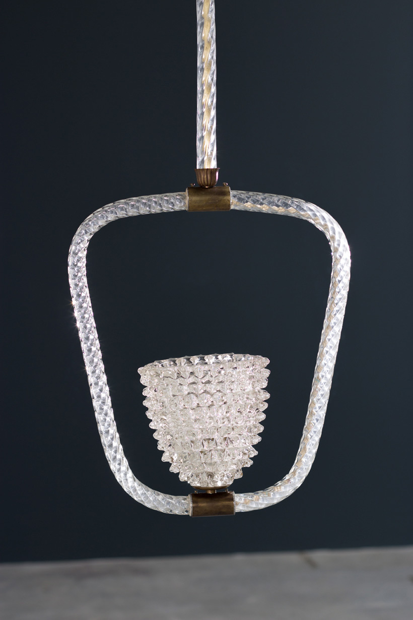 Ercole Barovier & Toso Rostrato chandelier 1940 img 4