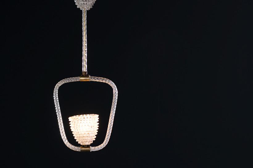 Ercole Barovier & Toso Rostrato chandelier 1940 img 7