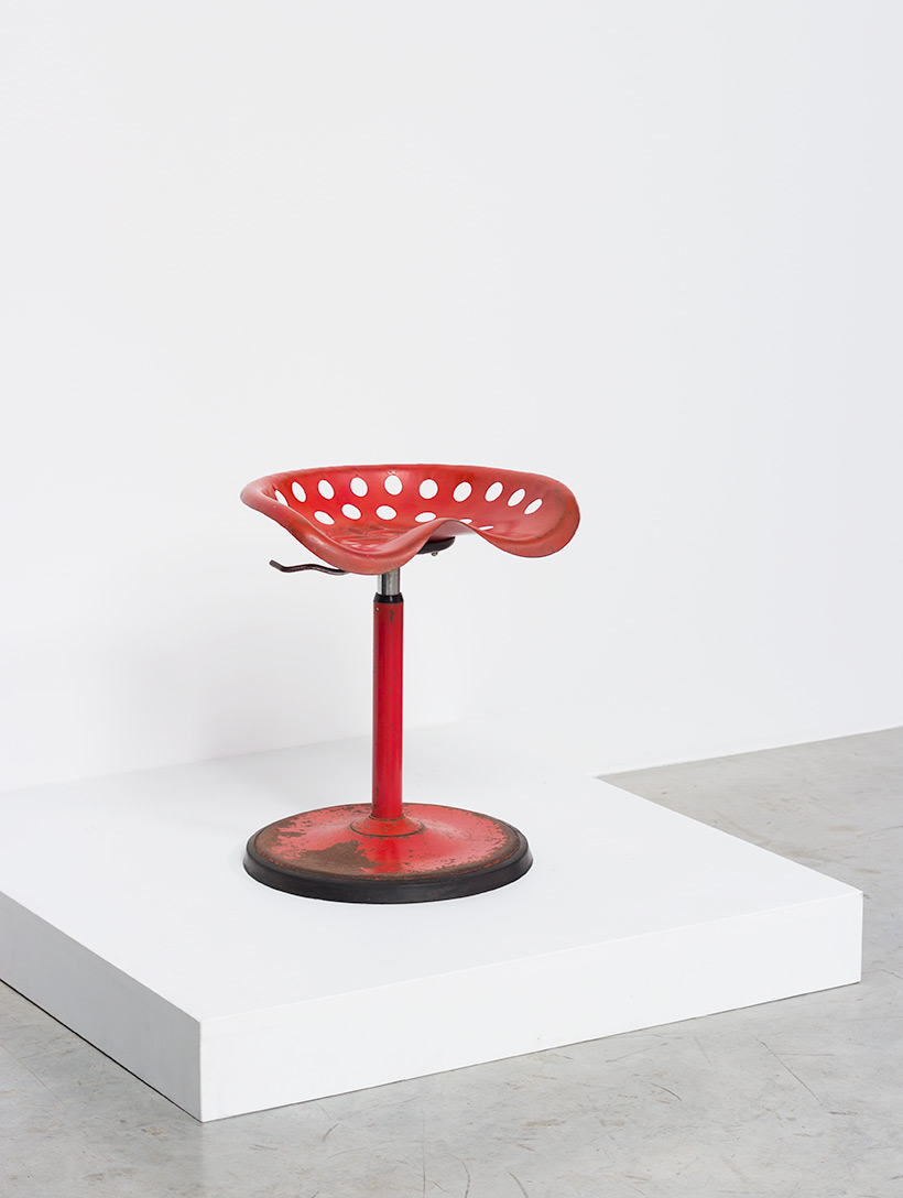 Etienne Fermigier telescopic Tractor stool Mirima Pop Art