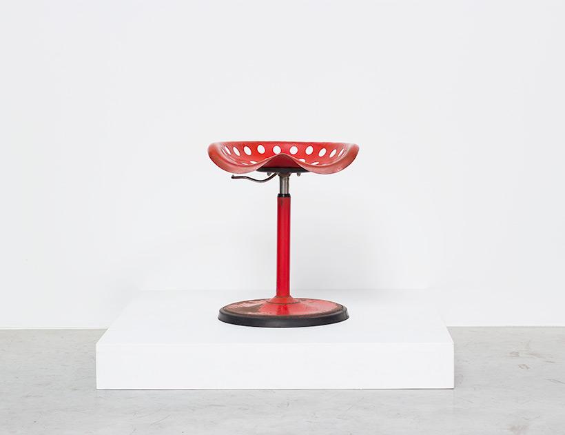 Etienne Fermigier telescopic Tractor stool Mirima Pop Art img 3