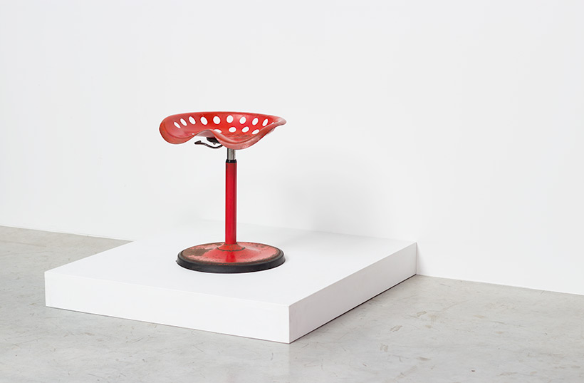 Etienne Fermigier telescopic Tractor stool Mirima Pop Art img 6