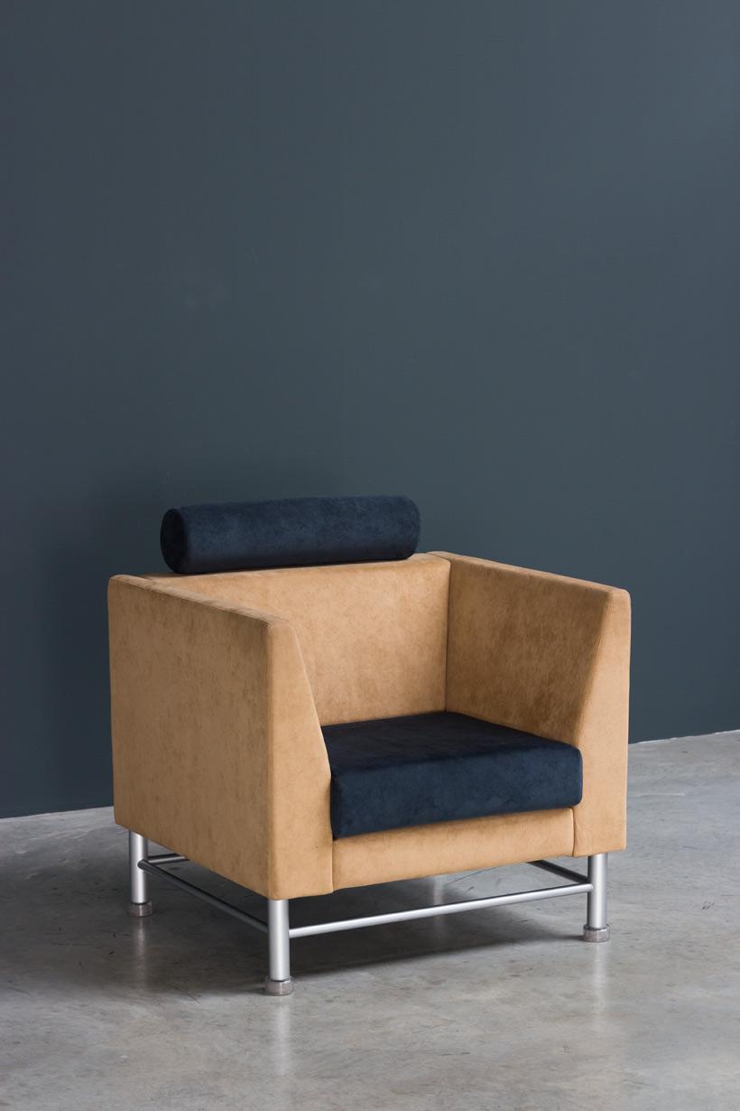 Ettore Sottsass Eastside lounge chair Memphis Knoll