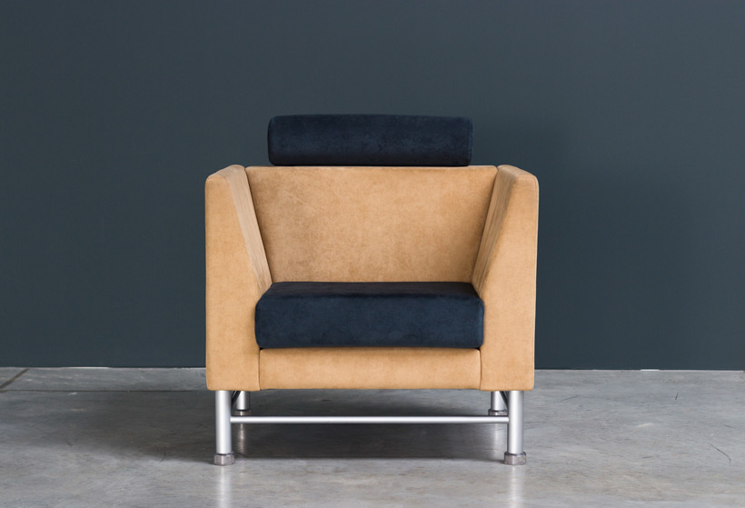 Ettore Sottsass Eastside lounge chair Memphis Knoll img 3
