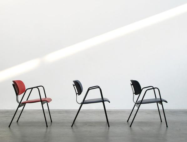 F1 Willy Van der Meeren easy chairs Tubax