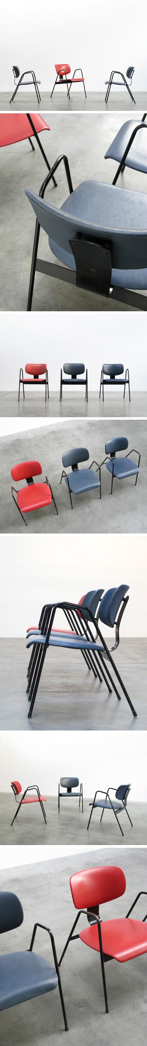 F1 Willy Van der Meeren easy chairs Tubax Large