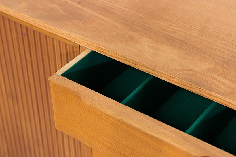 Fifties sideboard elegant storage cabinet Belgium made 1950 img 10
