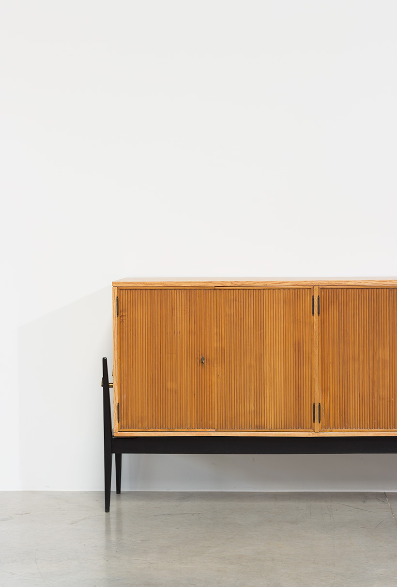 Fifties sideboard elegant storage cabinet Belgium made 1950