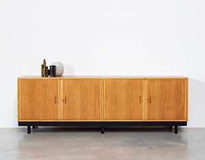 Fifties wooden oak sideboard build on request