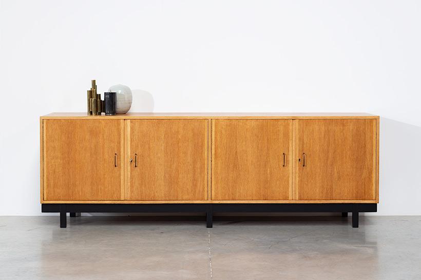 Attirant Fifties Wooden Oak Sideboard Build On Request