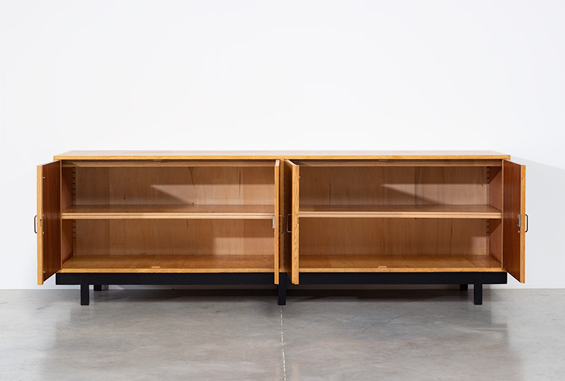 Fifties wooden oak sideboard build on request img 8