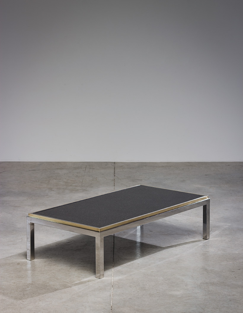Flaminia coffee table with marble top designed by Willy Rizzo img 6