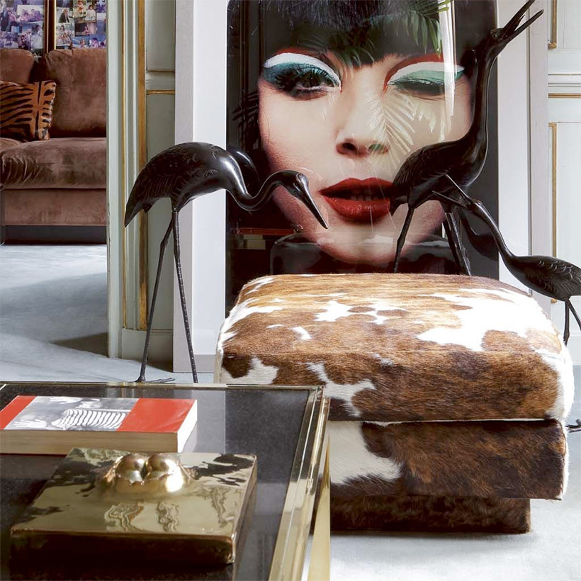 Flaminia coffee table with marble top designed by Willy Rizzo img 9