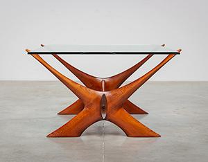 Fredrik Schriever Abeln Condor coffee table for Orebro Glas 1960