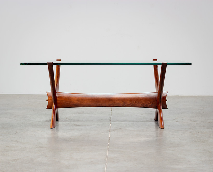 Fredrik Schriever Abeln Condor coffee table for Orebro Glas 1960 img 3