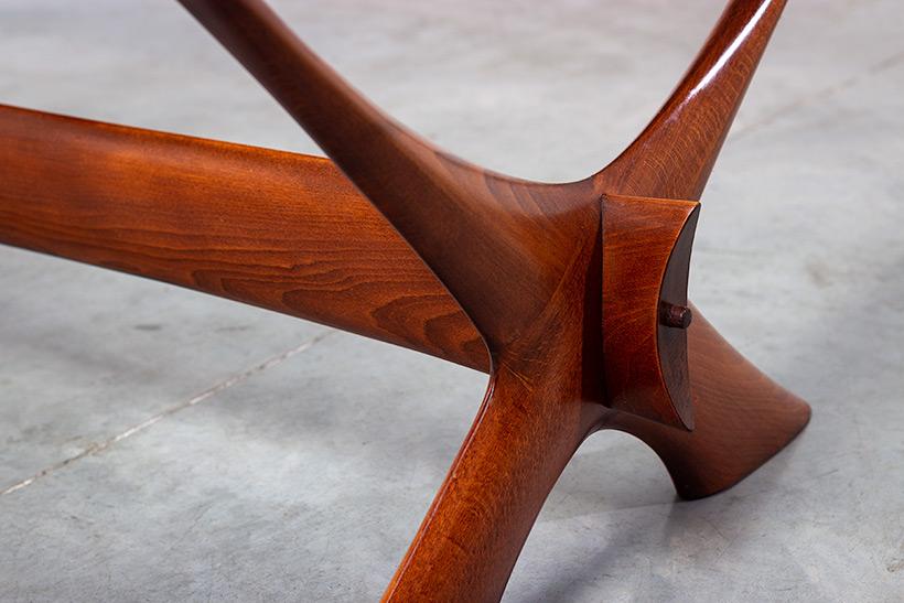 Fredrik Schriever Abeln Condor coffee table for Orebro Glas 1960 img 4