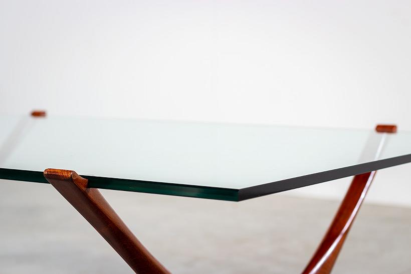 Fredrik Schriever Abeln Condor coffee table for Orebro Glas 1960 img 5