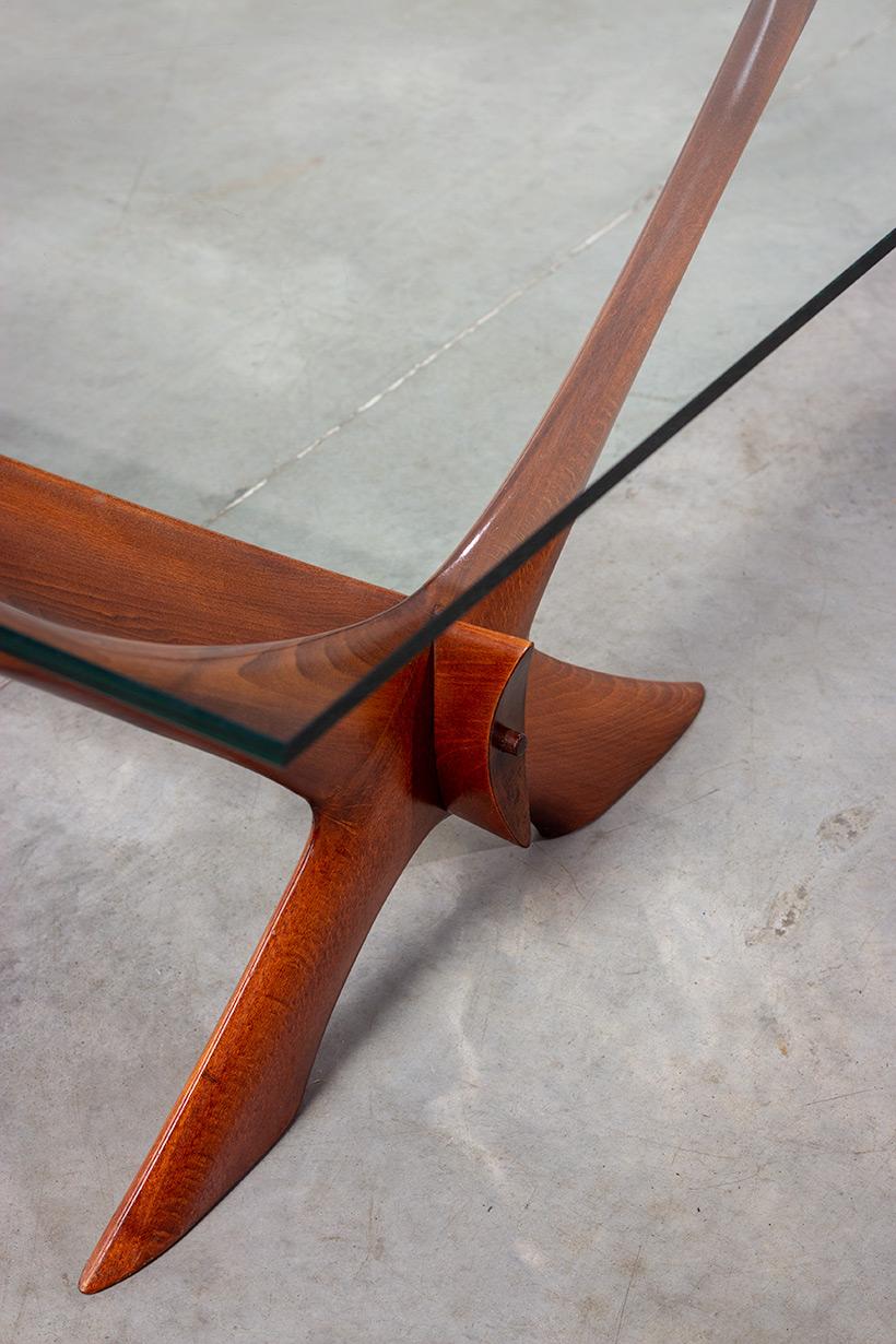 Fredrik Schriever Abeln Condor coffee table for Orebro Glas 1960 img 6