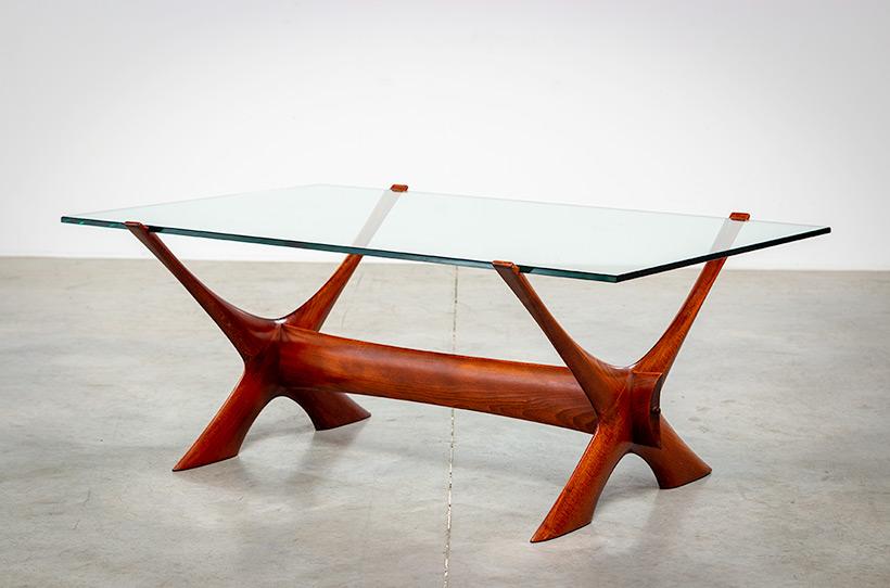 Fredrik Schriever Abeln Condor coffee table for Orebro Glas 1960 img 7
