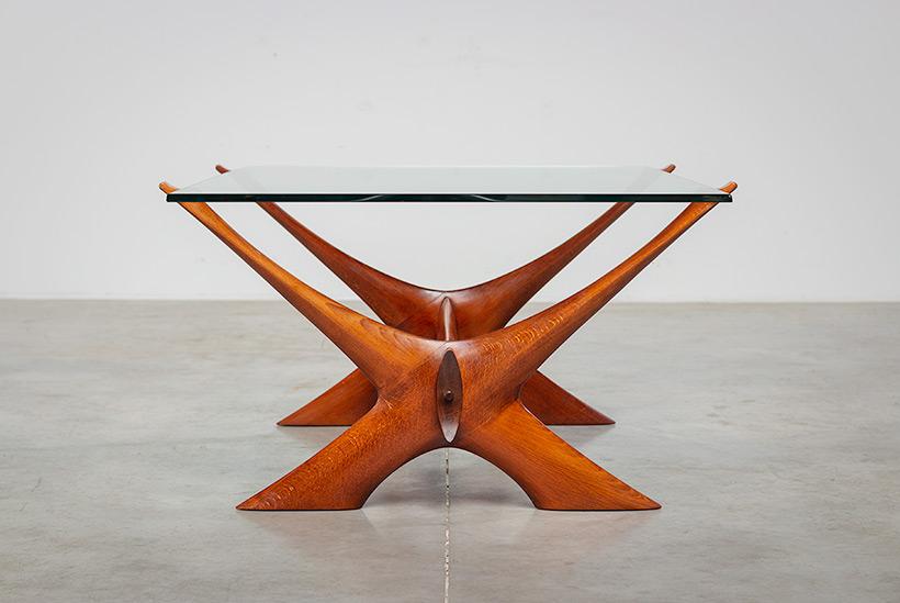 Fredrik Schriever Abeln Condor coffee table for Orebro Glas 1960 img 8