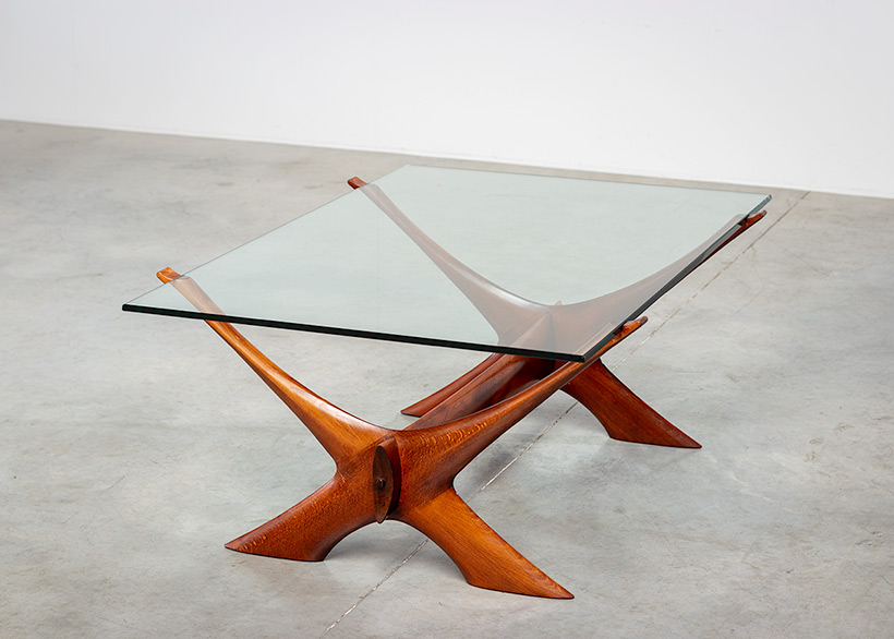 Fredrik Schriever Abeln Condor coffee table for Orebro Glas 1960 img 9