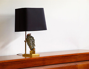 French table lamp with Pyrite Willy Daro