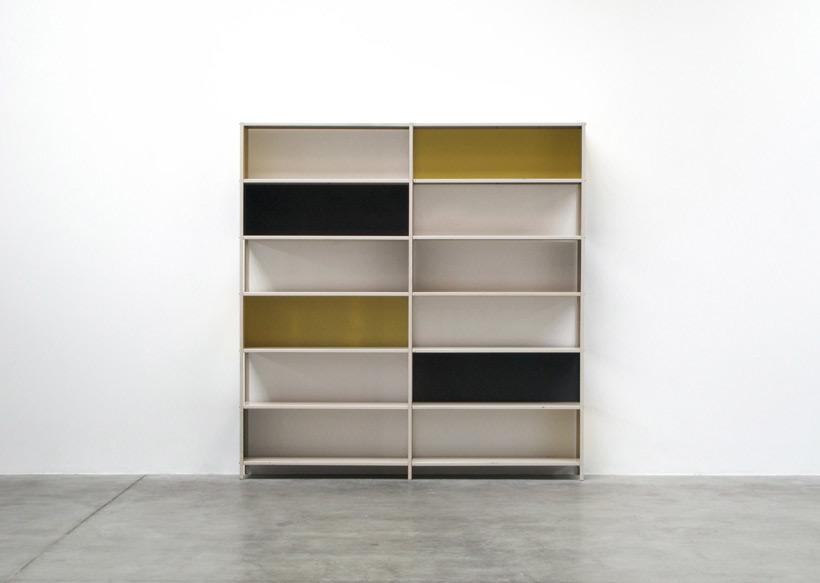 Friso Kramer Asmeta modular shelving wall unit 1953