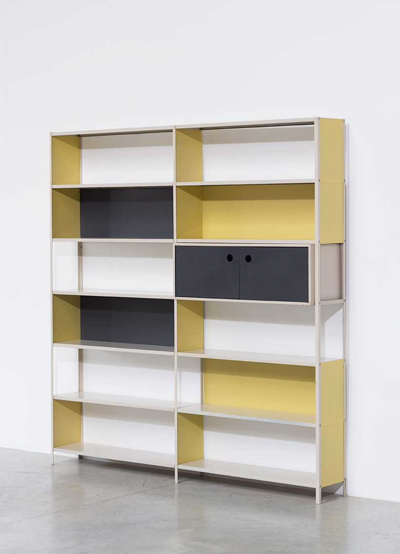 Friso Kramer bookcase for the Bijenkorf Martin Visser 1950