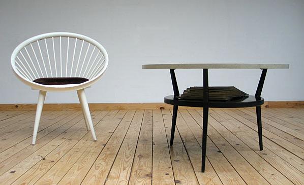 Friso Kramer industrial metal coffee table