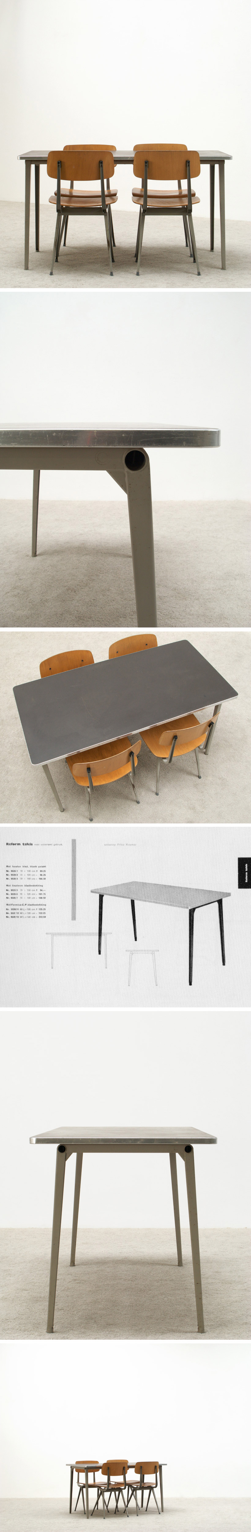 Friso Kramer Industrial Reform table 1955 Large