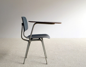 Friso Kramer industrial Revolt chair desk 1953