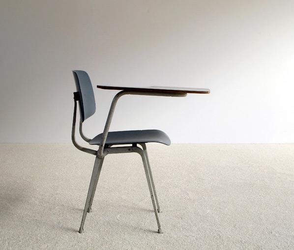 Friso Kramer industrial Revolt chair desk 1953