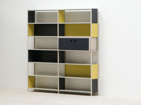 Friso Kramer modular shelving wall unit Asmeta 1953
