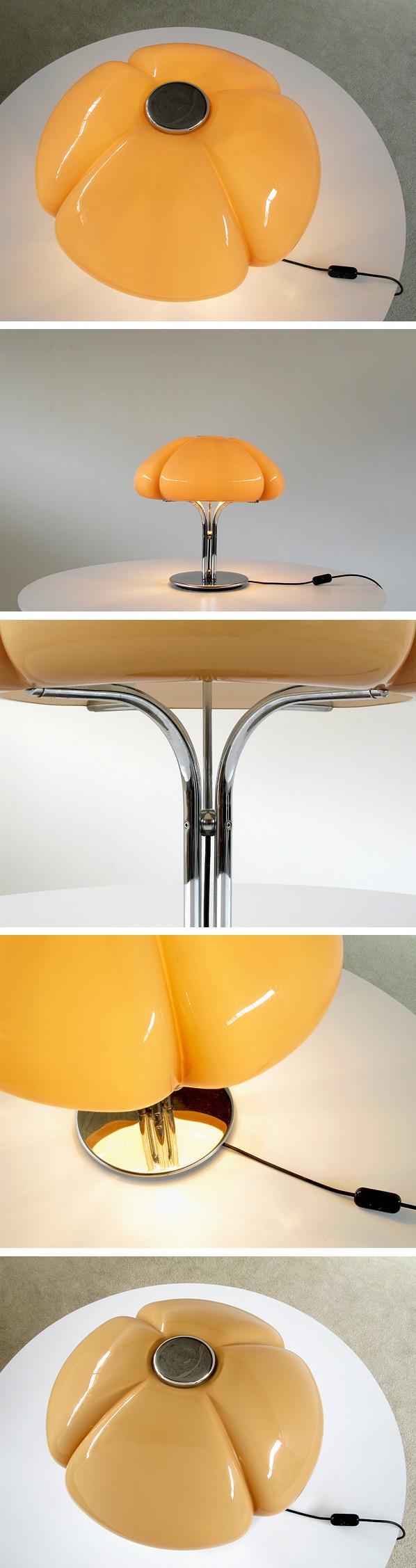 Gae Aulenti table Lamp Quadrifoglio Guzzini Large