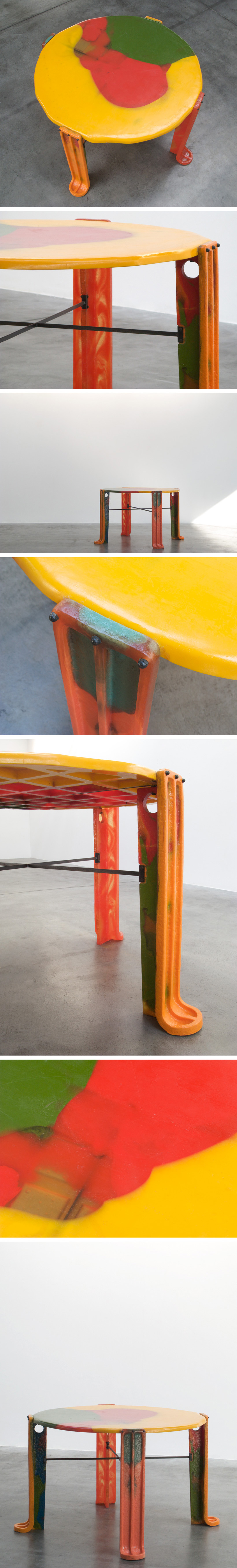 Gaetano Pesce dinette table from the TBWA Chiat Day New York Large