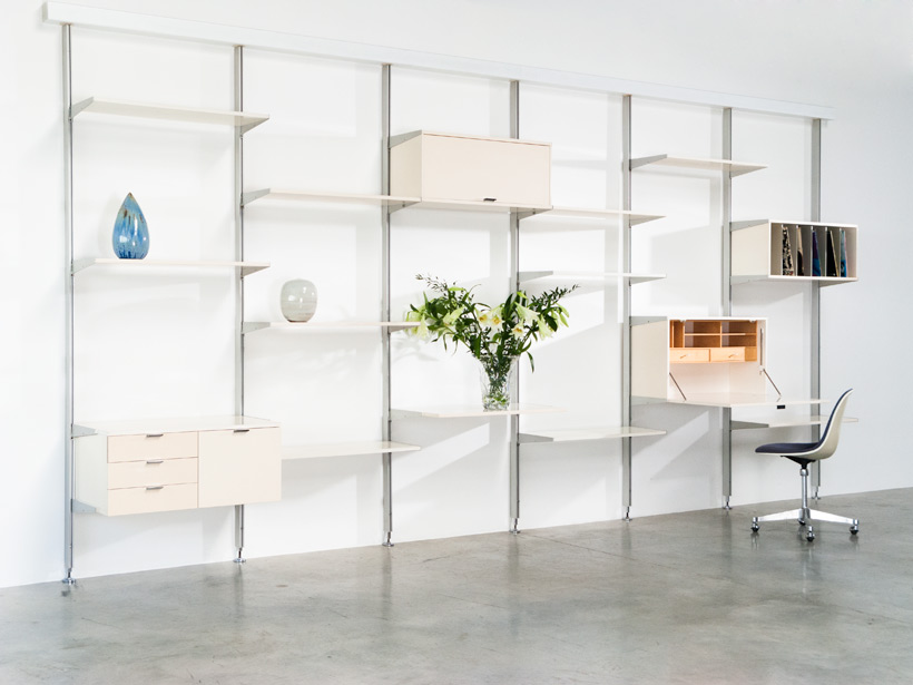 George Nelson CSS modular wall unit room divider Herman Miller