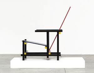 Gerrit Rietveld The Red and Bleu chair Cassina