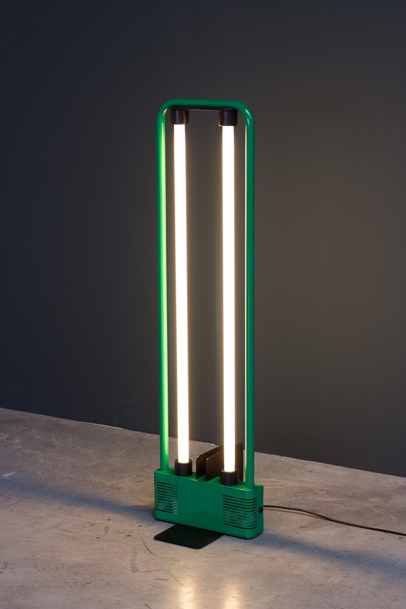 Gian Nicola Gigante 1981 Neon lamp Sottsass