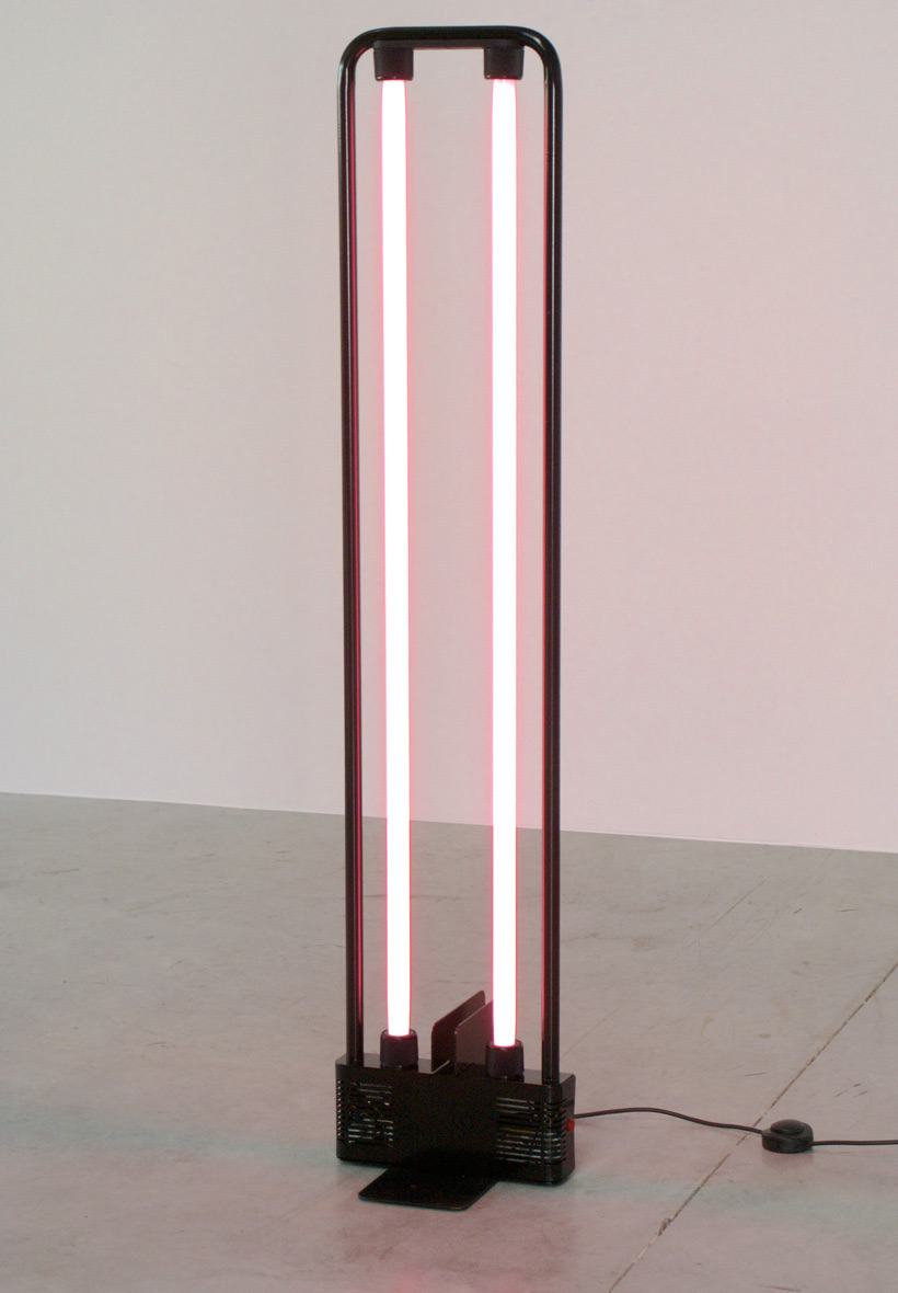 Gian Nicola Gigante lamp Neon 1981 Sottsass
