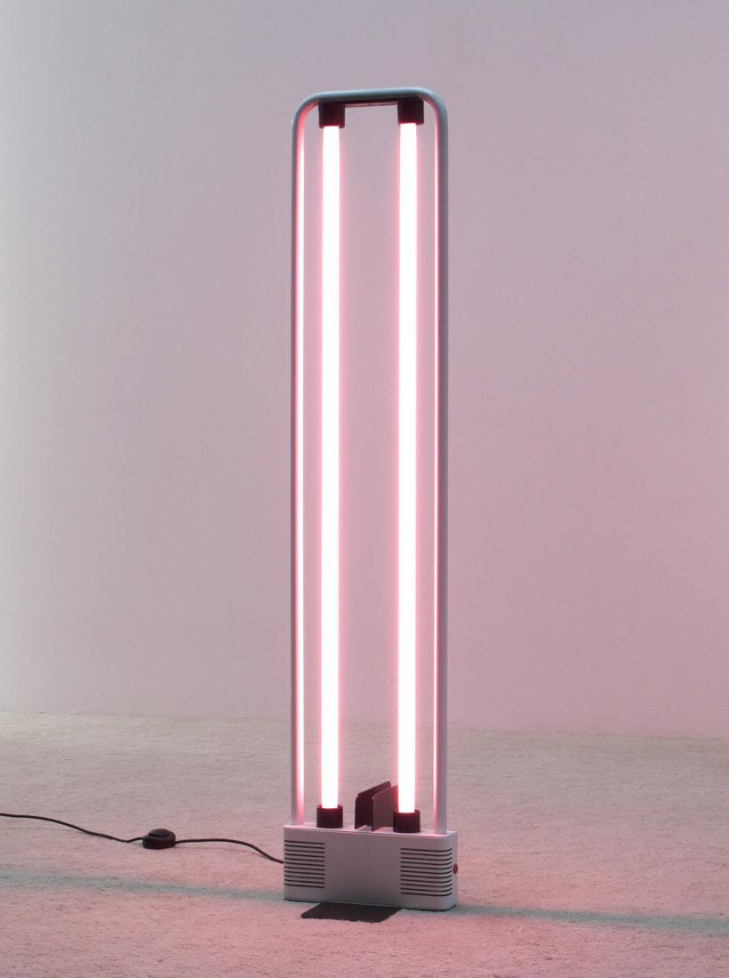 Gian Nicola Gigante Neon lamp 1981 Sottsass