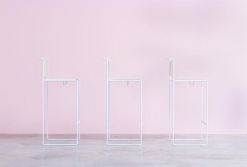 Giandomenico Belotti three bar stools for fly line img 3