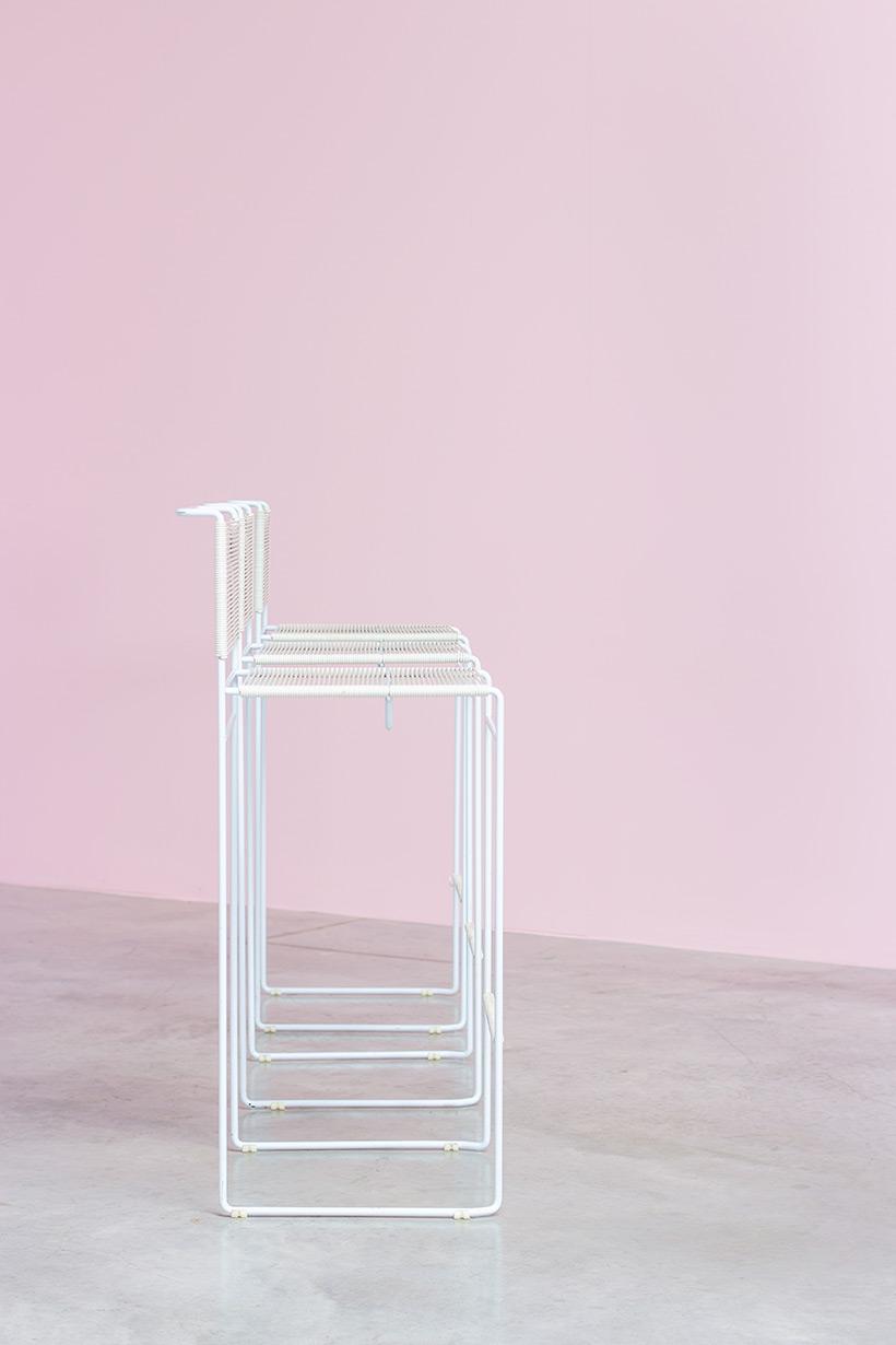 Giandomenico Belotti three bar stools for fly line img 6