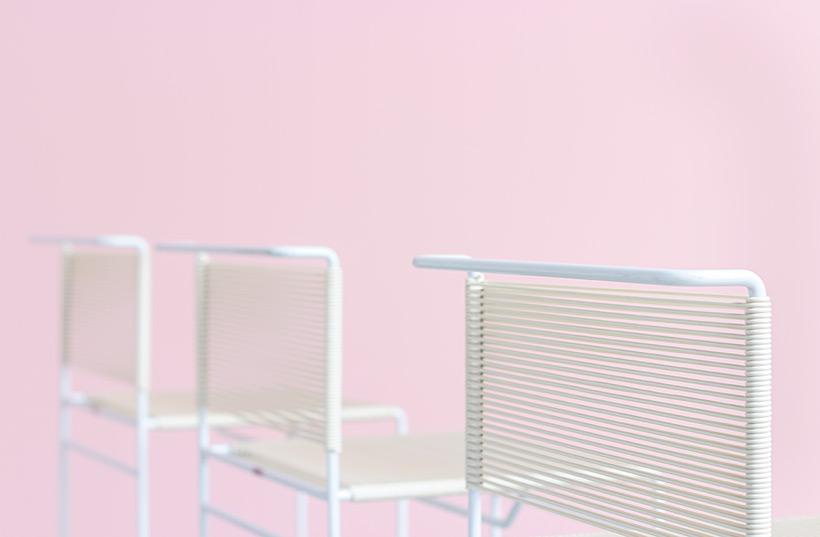Giandomenico Belotti three bar stools for fly line img 7