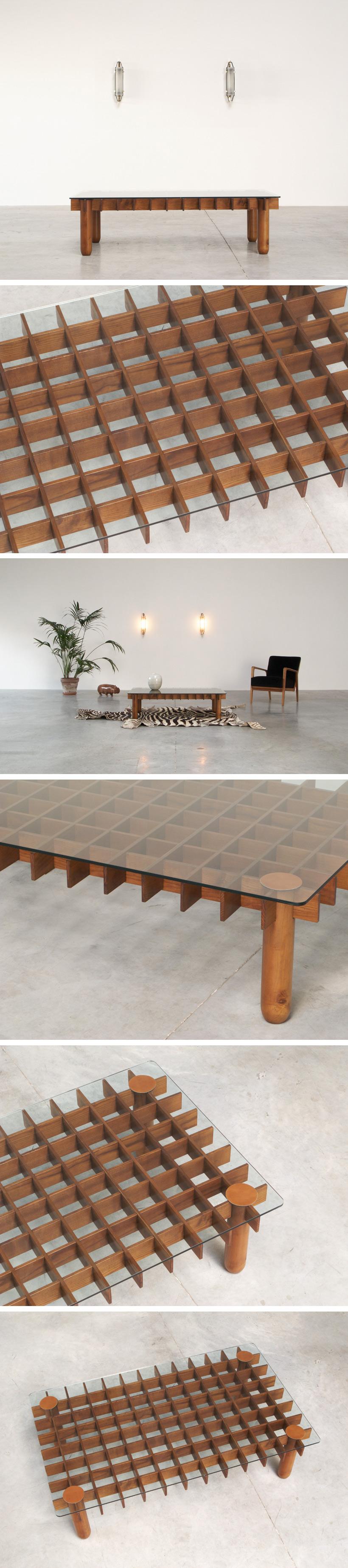 Gianfranco Frattini coffee table Large