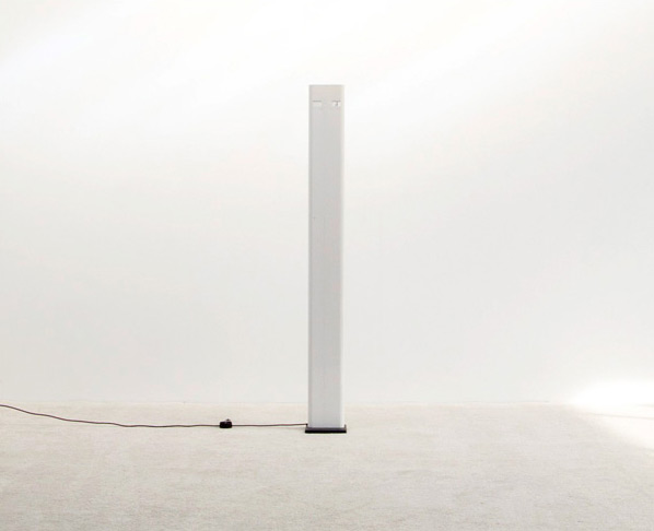 Gianfranco Frattini column floor lamp